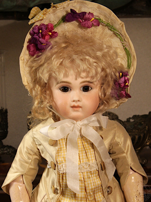 Antique bisque doll Schmitt 38cm