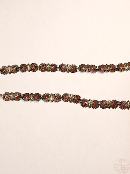 Antique enamel necklace