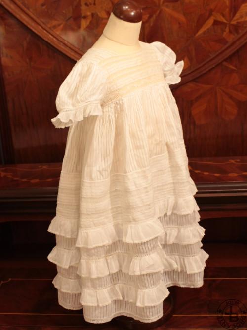 Vintage Baby Dress Frill