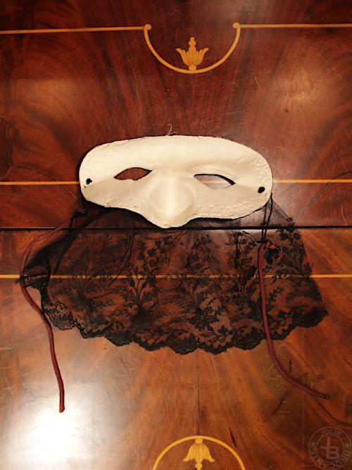 レース付きマスク