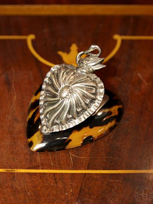 Antique Silver paper clip