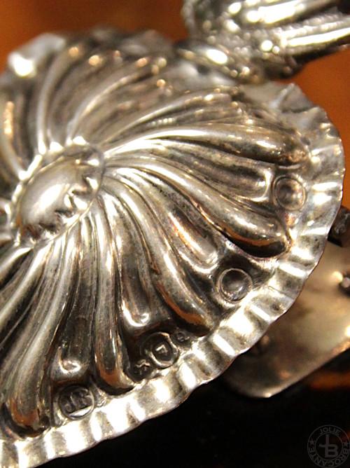 Antique Silver tortoiseshell paper clip