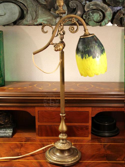 アンティーク ヴィトリフィカシオン テーブルランプ