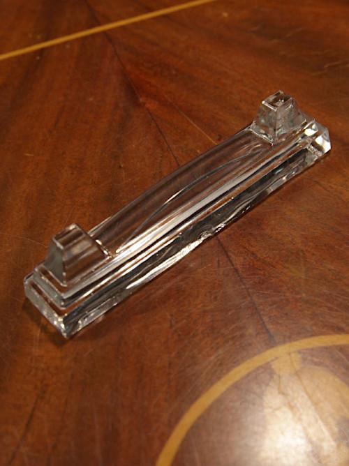 アールデコ ガラス カトラリーレスト オリジナルボックス