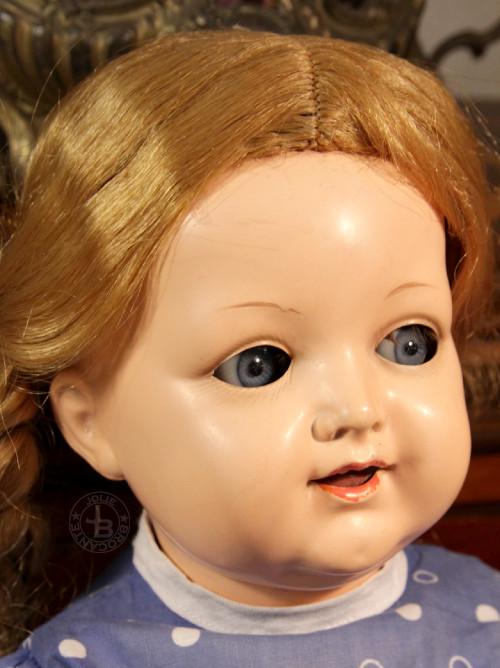 K&R728 Celluloid Head Doll