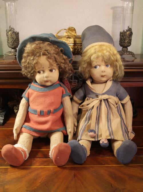 Old Lenci Dolls