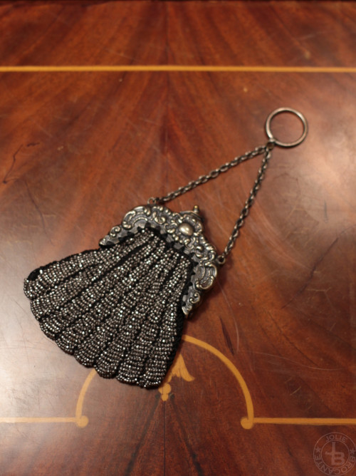 metal beads coin purse